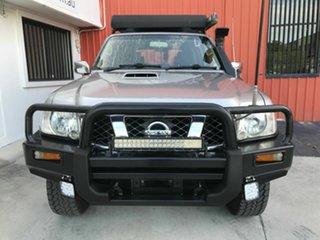 2006 Nissan Patrol GU IV MY05 ST-S Silver 4 Speed Automatic Wagon.