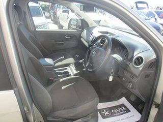 2014 Volkswagen Amarok 2H MY14 TDI400 Trendline (4x4) Beige 6 Speed Manual Dual Cab Utility
