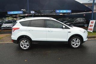 2014 Ford Kuga TF MK 2 Trend (AWD) White 6 Speed Automatic Wagon.