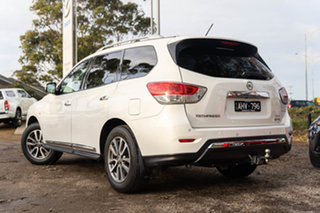 2015 Nissan Pathfinder R52 MY15 ST-L X-tronic 4WD White 1 Speed Constant Variable Wagon.