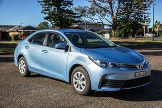 2017 Toyota Corolla ZRE172R Ascent S-CVT Sky Blue 7 Speed Constant Variable Sedan.