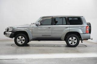 2008 Nissan Patrol GU 6 MY08 ST Grey 5 Speed Manual Wagon.