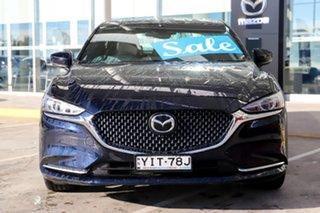2018 Mazda 6 GL1031 Atenza SKYACTIV-Drive Deep Crystal Blue 6 Speed Sports Automatic Sedan