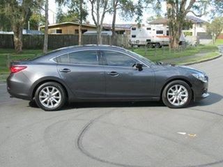2012 Mazda 6 GJ1031 Sport SKYACTIV-Drive Grey 6 Speed Sports Automatic Sedan.