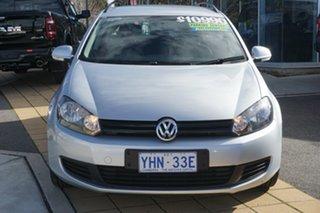 2011 Volkswagen Golf VI MY11 90TSI DSG Trendline Reflex Silver 7 Speed Sports Automatic Dual Clutch.