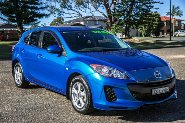 Used Mazda 3 BL10F2 MY13 Neo Activematic Port Macquarie, 2013 Mazda 3 BL10F2 MY13 Neo Activematic Blue 5 Speed Sports Automatic Hatchback
