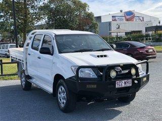 2009 Toyota Hilux KUN26R SR White 5 Speed Manual Utility.
