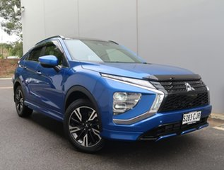 2021 Mitsubishi Eclipse Cross YB MY21 Exceed 2WD Blue 8 Speed Constant Variable Wagon.