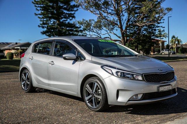 Used Kia Cerato YD MY18 Sport Port Macquarie, 2017 Kia Cerato YD MY18 Sport Silky Silver 6 Speed Sports Automatic Hatchback