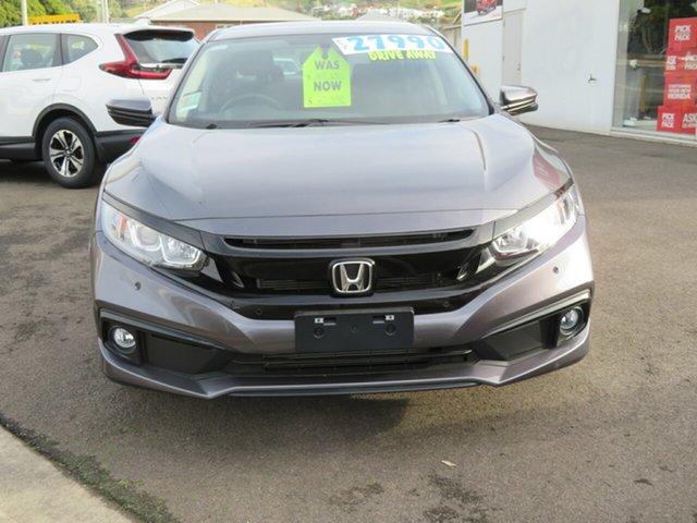 New Honda Civic 10th Gen MY20 VTi-S Burnie, 2020 Honda Civic 10th Gen MY20 VTi-S Modern Steel 1 Speed Constant Variable Sedan