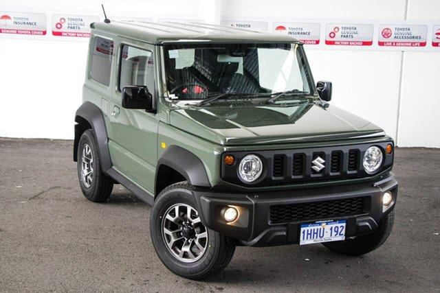Pre-Owned Suzuki Jimny GLX (Qld) Myaree, 2021 Suzuki Jimny GLX (Qld) Green 5 Speed Manual 4x4 Wagon