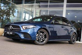 2020 Mercedes-Benz A-Class A250 DCT Blue 7 Speed Sports Automatic Dual Clutch Hatchback.