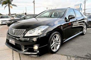 2011 Toyota Crown GRS204 Athlete Black 6 Speed Automatic Sedan