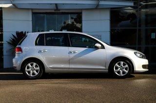 2012 Volkswagen Golf VI MY12.5 77TSI Silver, Chrome 6 Speed Manual Hatchback.