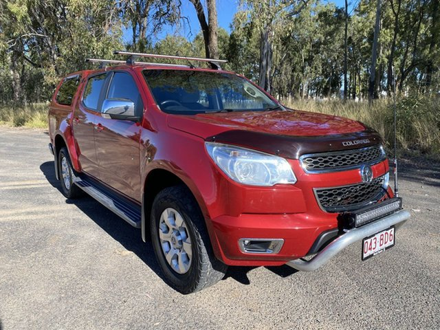 Pre-Owned Holden Colorado RG MY17 LTZ (4x4) Chinchilla, 2016 Holden Colorado RG MY17 LTZ (4x4) Red 6 Speed Automatic Crew Cab Pickup