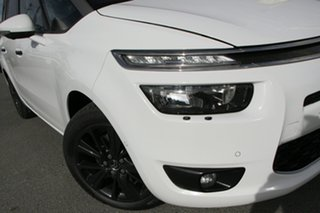 2014 Citroen Grand C4 Picasso B7 Exclusive Blanc Banouise White/grey 6 Speed Sports Automatic Wagon.