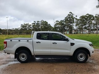 2017 Ford Ranger PX MkII XL Frozen White 6 Speed Manual Cab Chassis.