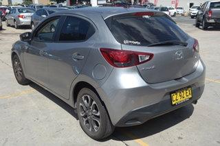 2015 Mazda 2 DJ2HA6 Genki SKYACTIV-MT Grey 6 Speed Manual Hatchback