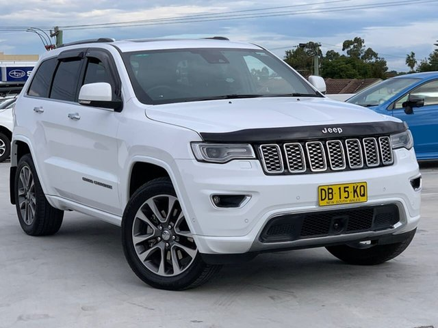 Used Jeep Grand Cherokee WK MY18 Overland Liverpool, 2018 Jeep Grand Cherokee WK MY18 Overland Bright White 8 Speed Sports Automatic Wagon