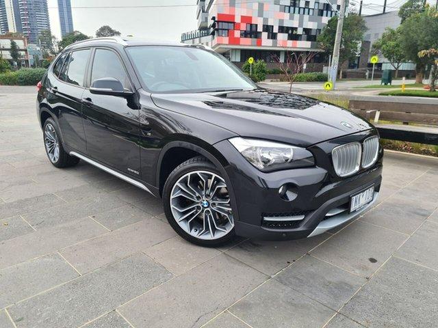 Used BMW X1 E84 MY0314 sDrive20i South Melbourne, 2014 BMW X1 E84 MY0314 sDrive20i Black 8 Speed Sports Automatic Wagon