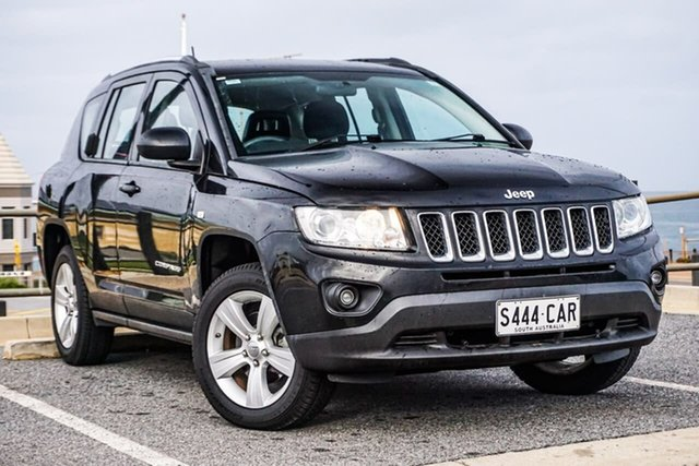 Used Jeep Compass MK MY12 Sport CVT Auto Stick Christies Beach, 2012 Jeep Compass MK MY12 Sport CVT Auto Stick Black 6 Speed Constant Variable Wagon