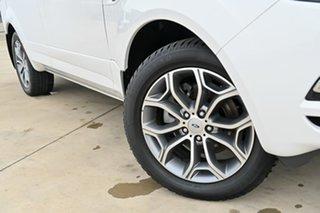 2012 Ford Territory SZ Titanium Seq Sport Shift White 6 Speed Sports Automatic Wagon.