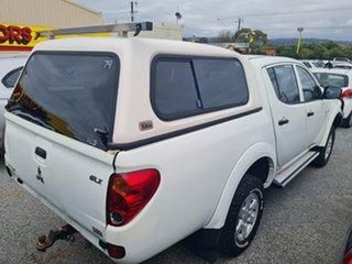 2012 Mitsubishi Triton MN MY12 GLX (4x4) White 5 Speed Manual 4x4 Double Cab Utility