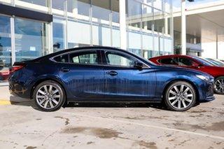 2018 Mazda 6 GL1031 Atenza SKYACTIV-Drive Deep Crystal Blue 6 Speed Sports Automatic Sedan.