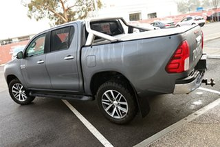 2017 Toyota Hilux GUN126R SR5 Double Cab Graphite 6 Speed Manual Utility.