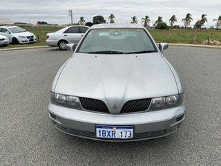 2002 Mitsubishi Verada KJ EI Silver 4 Speed Auto Sports Mode Sedan.