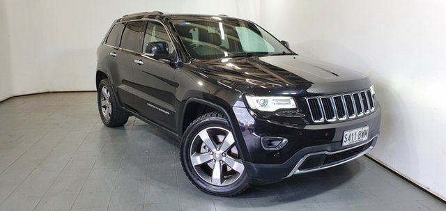 Used Jeep Grand Cherokee WK MY15 Limited Elizabeth, 2015 Jeep Grand Cherokee WK MY15 Limited Black 8 Speed Sports Automatic Wagon