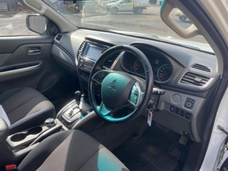 2016 Mitsubishi Triton MQ MY16 Upgrade GLS (4x4) White 5 Speed Automatic Dual Cab Utility