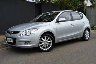 2009 Hyundai i30 FD MY09 SLX Silver 4 Speed Automatic Hatchback.