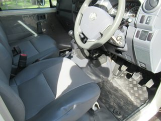 2014 Toyota Landcruiser VDJ79R Workmate White 5 Speed Manual Cab Chassis