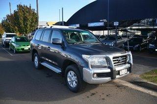 2008 Toyota Landcruiser UZJ200R GXL (4x4) Grey 5 Speed Automatic Wagon.