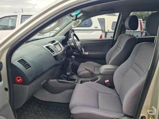2012 Toyota Hilux KUN26R MY12 SR5 (4x4) Silver 5 Speed Manual Dual Cab Pick-up