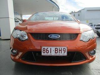 2010 Ford Falcon FG Upgrade XR6 50th Anniversary Orange 6 Speed Auto Seq Sportshift Sedan