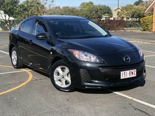 Used Mazda 3 BL10F2 MY13 Neo Activematic Chermside, 2013 Mazda 3 BL10F2 MY13 Neo Activematic Black 5 Speed Sports Automatic Hatchback