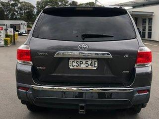 2013 Toyota Kluger GSU45R MY12 KX-S AWD Grey 5 Speed Sports Automatic Wagon