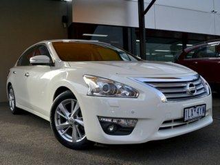 2016 Nissan Altima L33 ST-L X-tronic White 1 Speed Constant Variable Sedan.