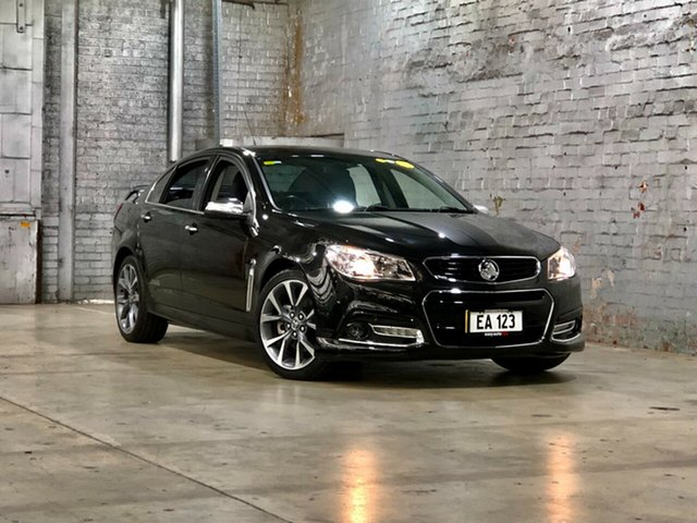 Used Holden Commodore VF MY14 SS V Mile End South, 2013 Holden Commodore VF MY14 SS V Black 6 Speed Sports Automatic Sedan