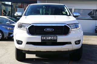 2020 Ford Ranger PX MkIII 2020.75MY XLT Hi-Rider Arctic White 10 Speed Sports Automatic