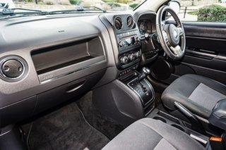 2012 Jeep Compass MK MY12 Sport CVT Auto Stick Black 6 Speed Constant Variable Wagon
