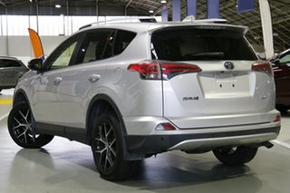 2016 Toyota RAV4 ALA49R GXL AWD Silver Pearl 6 Speed Sports Automatic Wagon.