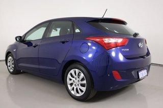 2013 Hyundai i30 GD Active Blue 6 Speed Automatic Hatchback