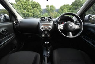 2013 Nissan Micra K13 MY13 ST-L Silver 4 Speed Automatic Hatchback