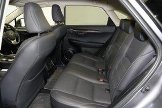 2018 Lexus NX AGZ15R NX300 AWD Sports Luxury Mercury Grey 6 Speed Sports Automatic Wagon