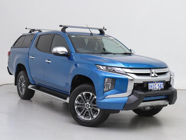 Used Mitsubishi Triton MR MY20 GLS (4x4) Premium, 2020 Mitsubishi Triton MR MY20 GLS (4x4) Premium Blue 6 Speed Automatic Double Cab Pick Up