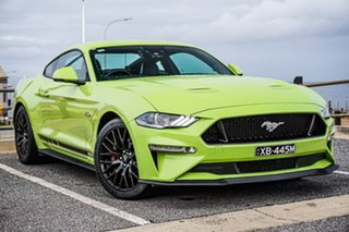 2019 Ford Mustang FN 2020MY GT Green 10 Speed Sports Automatic Fastback.