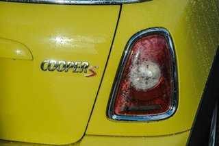 2010 Mini Cabrio R57 MY09 Cooper S Steptronic Yellow 6 Speed Sports Automatic Convertible